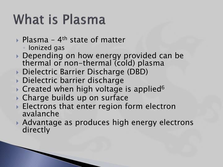 What is Plasma