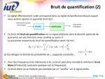 bruit de quantification 2
