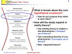research flow theory