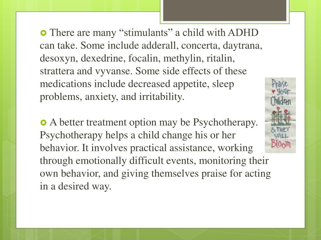 PPT - ADHD PowerPoint Presentation - ID:2101807