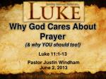 why god cares about prayer1
