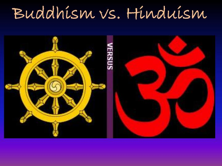 an analysis and a comparison of hinduism and buddhism