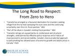 the long road to respect from zero to hero1