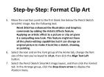 step by step format clip art1