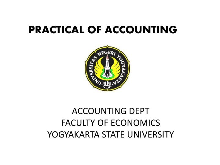 accounting dept faculty of economics yogyakarta state university n.