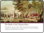 the battle of the thames river