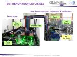 test bench source gisele1