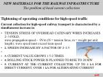 new materials for the railway infrastructure the problem of head current collection1