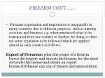 firearm cont
