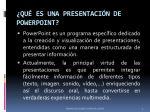 qu es una presentaci n de powerpoint