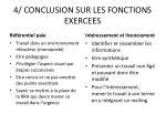 4 conclusion sur les fonctions exercees