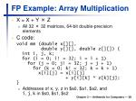 fp example array multiplication