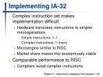 implementing ia 32