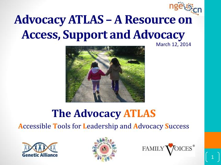 advocacy atlas a resource on access support and advocacy n.