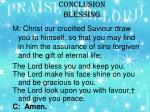 conclusion blessing