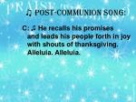 post communion song1