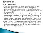 section 31