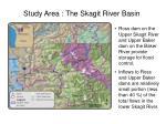 study area the skagit river basin