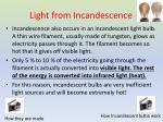 light from incandescence1