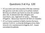 questions 3 et 4 p 120