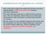 emergence of medieval cities2