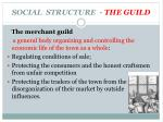 social structure the guild1