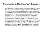 step by step use smartart graphics2