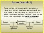 access control 1