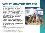 corp of discovery 1804 1806