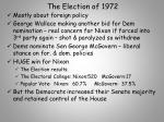 the election of 1972