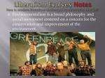 liberalism evolves notes how is modern liberalism challenged by alternative thought