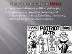 neo conservatism notes