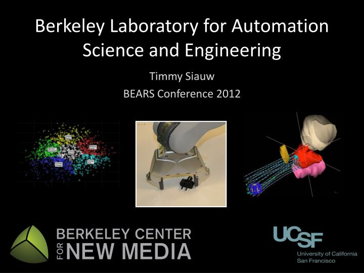 berkeley laboratory for automation science and engineering n.