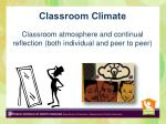 classroom climate