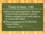 treaty of paris 17833