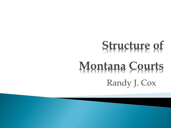 structure of montana courts n.