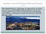 another award winning policing program