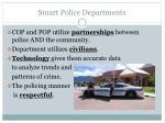 smart police departments
