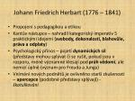 johann friedrich herbart 1776 1841