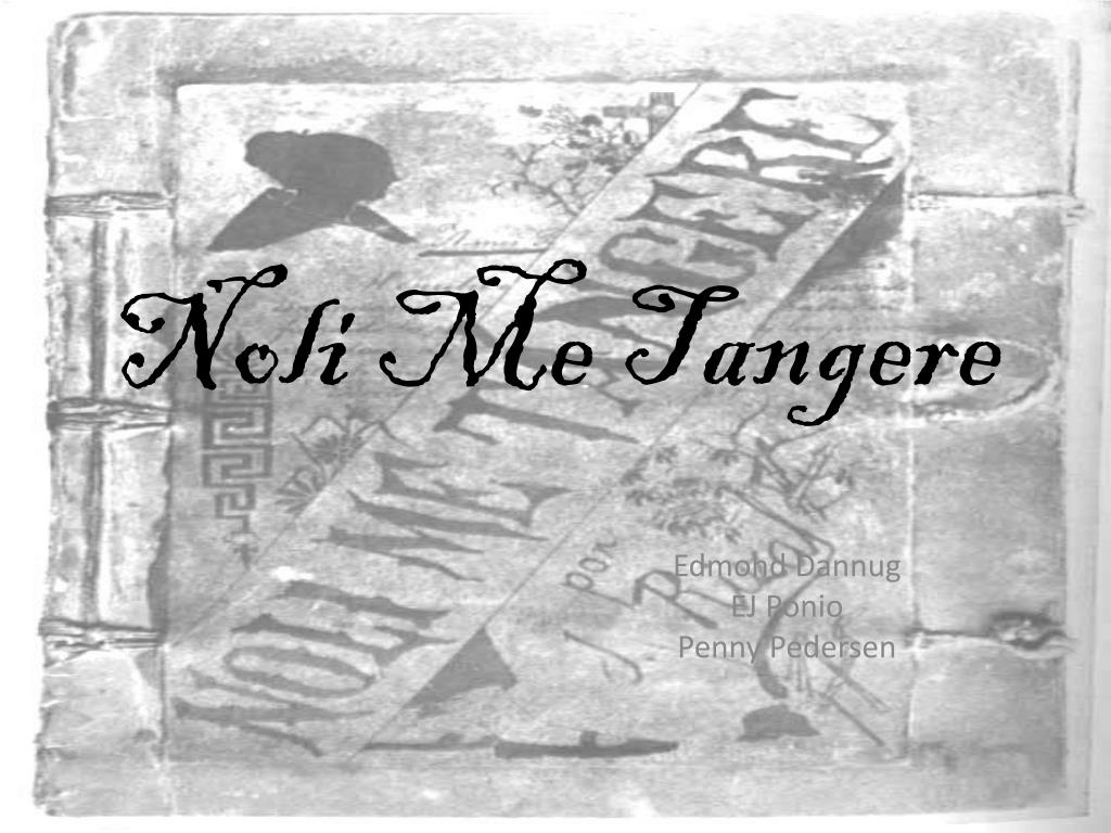 noli me tangere summary filipino version