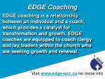 edge coaching