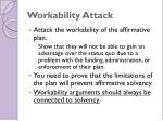 workability attack