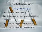 the results of smoking survey3