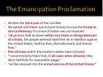 the emancipation proclamation1