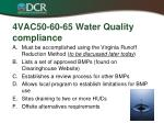 4vac50 60 65 water quality compliance
