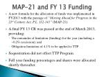 map 21 and fy 13 funding