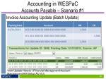 accounting in wespac accounts payable scenario 15