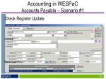 accounting in wespac accounts payable scenario 16