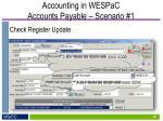 accounting in wespac accounts payable scenario 18