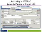 accounting in wespac accounts payable scenario 41